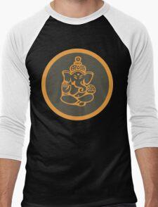 Ganesha T-Shirt Men's Baseball ¾ T-Shirt