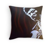 Jimmy has soul Throw Pillow