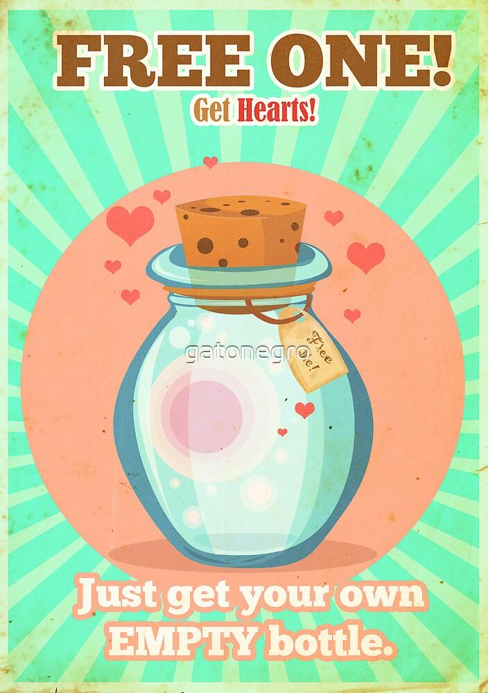 Free Hearts by gatonegro