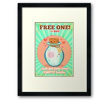 Free Hearts Framed Print