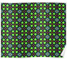 Psychedelic pattern Poster