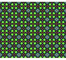 Psychedelic pattern Photographic Print