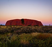Uluru Sunset 2 by Adam Northam
