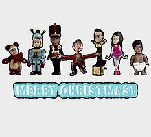 Stop Motion Christmas - Style B by oncenfuturekiki