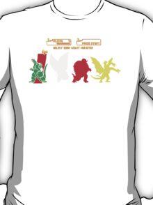 Select your Kaiju T-Shirt