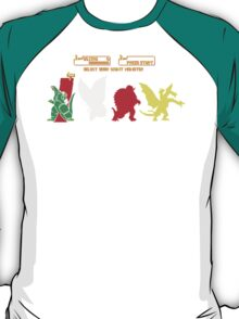 Select your Kaiju T-Shirt