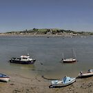 Ebbing Tide - Appledore by Victoria limerick