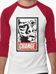 Eye of the Beholder Men's Baseball ¾ T-Shirt