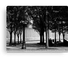 Atlanta Monochrome ~ Part One Canvas Print
