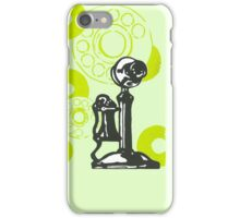 Green Vintage Telephone iPhone Case/Skin