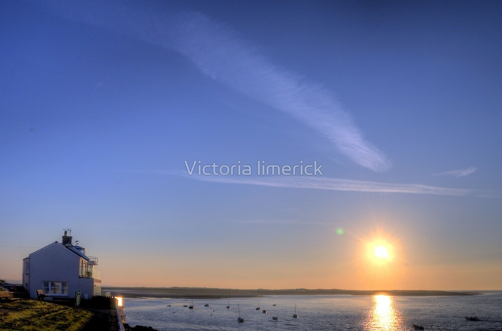 End of Day - Appledore by Victoria limerick