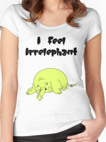 Irrelephant Women's Fitted Scoop T-Shirt