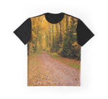 Yellow fall Driveway Graphic T-Shirt