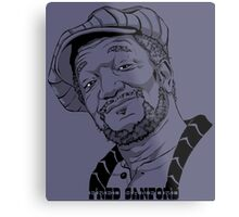 Fred Sanford Metal Print
