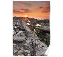 Watchet Summer Sunset Poster