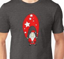 Christmas with Santa Clause Unisex T-Shirt
