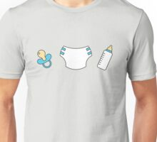 Pacifier, diaper and bottle Unisex T-Shirt