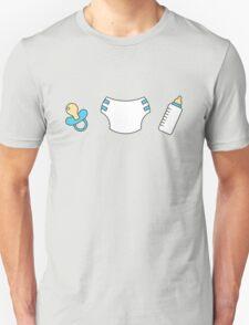 Pacifier, diaper and bottle T-Shirt