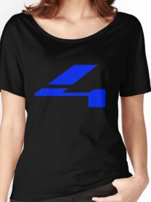 Halo 4 Solid Fill Women's Relaxed Fit T-Shirt