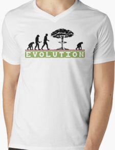 Not So Funny Evolution T-Shirt Mens V-Neck T-Shirt
