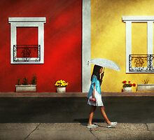 Child - A bright sunny day  by Mike  Savad