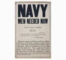 Navy men needed now One Piece - Short Sleeve