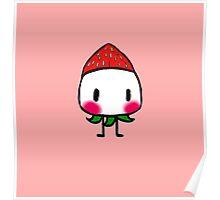 Chibi Strawberry Frupa Poster