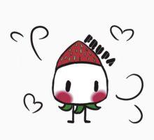 Chibi Strawberry Frupa Kids Tee