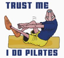 Funny Men's Pilates T-Shirt by T-ShirtsGifts