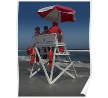 Lifeguards on Duty Poster