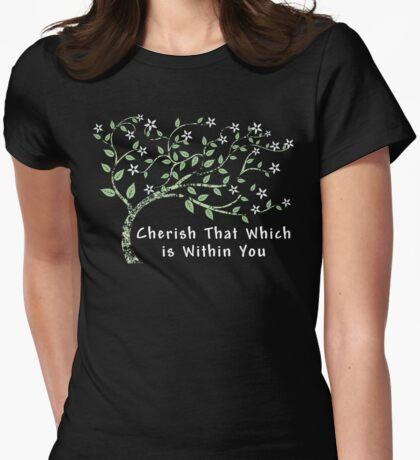 Yoga T-Shirt Womens Fitted T-Shirt