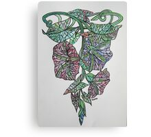 Art Nouveau Morning Glory Canvas Print