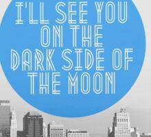 Dark Side of the Moon Sticker