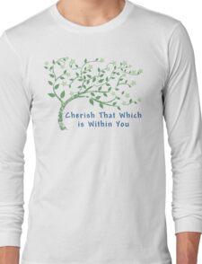 Yoga Quote T-Shirt Long Sleeve T-Shirt