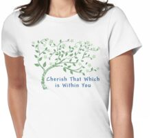 Yoga Quote T-Shirt Womens Fitted T-Shirt