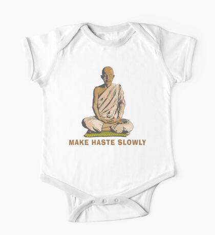 Funny Buddha Quote T-Shirt One Piece - Short Sleeve