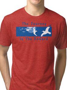 Yoga Saying T-shirt Tri-blend T-Shirt