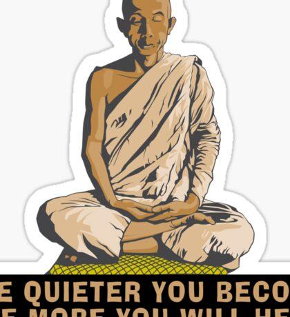 Buddha Quote T-Shirt Sticker