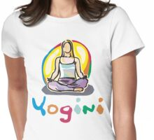 Yogini T-Shirt Womens Fitted T-Shirt
