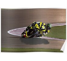 Cal Crutchlow in Qatar 2011 Poster