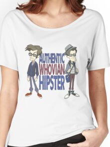 Doctor Who Whovian Hipster Women's Relaxed Fit T-Shirt