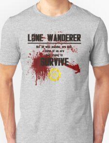Fallout - LONE WANDERER T-Shirt