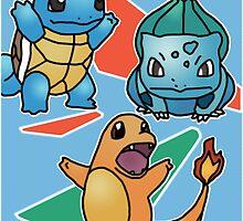 Pokemon First Episode Poster by RobertSchmuck