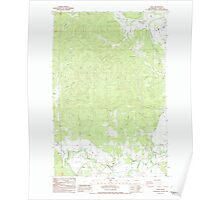 USGS Topo Map Washington State WA Adna 239746 1986 24000 Poster