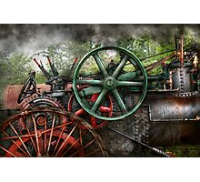 Steampunk - Machine - Transportation of the future Photographic Print
