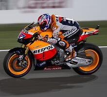 Casey Stoner in Qatar 2011 by corsefoto