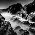 Bombo Rocks ~ B&amp;W by Arfan Habib