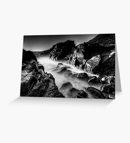 Bombo Rocks ~ B&W Greeting Card