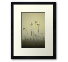 the gossip.... Framed Print