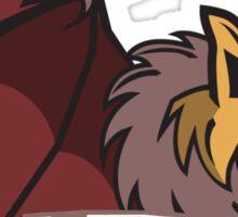 White Falls Wolfbats Sticker